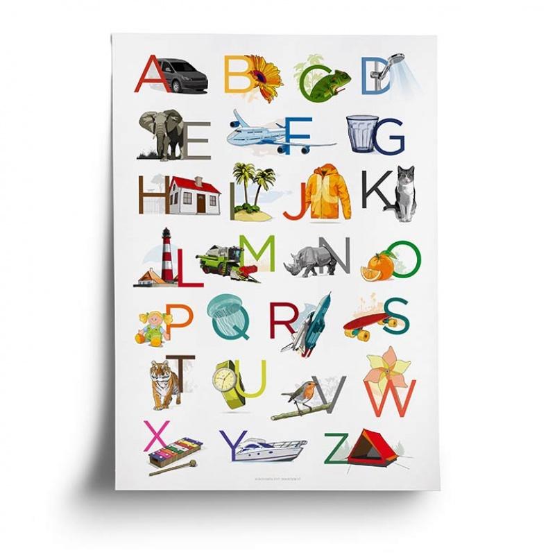 Alphabetplakat